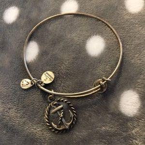 Anchor Alex and ani bracelet